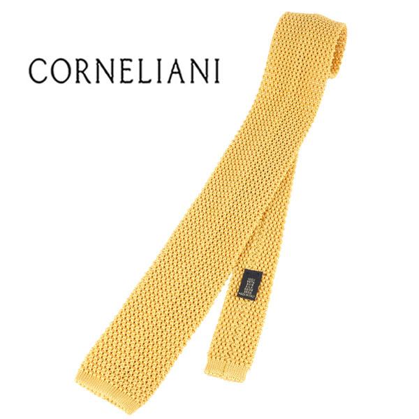 CORNELIANI コルネリアーニ ネクタイ メンズ シルク100% イエロー 黄 並行輸入品 メンズファッション 男性用 ビジネス 日本未入荷 ラッピング無料 送料無料