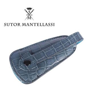 SUTOR MANTELLASSI ストール・マンテラッシ 靴ベラ メンズ クロコダイル レザー 並行輸入品 メンズファッション 男性用 ビジネス 日本未入荷 ラッピング無料 送料無料