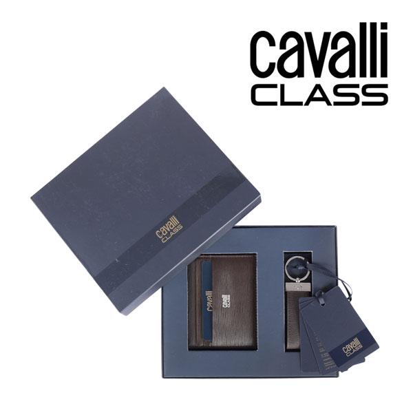 CAVALLI CLASS カヴァッリクラス ギフトセット メンズ ブラウン 茶 レザー 並行輸入品 メンズファッション 男性用 ビジネス 日本未入荷 ラッピング無料 送料無料