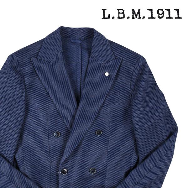 【46】 L.B.M.1911 エルビーエム ダブルジャケット 85097 メンズ ネイビー 紺 並行輸入品 メンズファッション 男性用 ビジネス アウター トップス 日本未入荷 ラッピング無料 送料無料