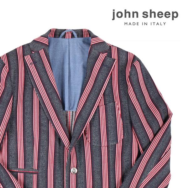 【48】 JOHN SHEEP ジョン・シープ ジャケット メンズ 春夏 ストライプ ネイビー 紺 並行輸入品 メンズファッション 男性用 ビジネス アウター トップス 日本未入荷 ラッピング無料 送料無料