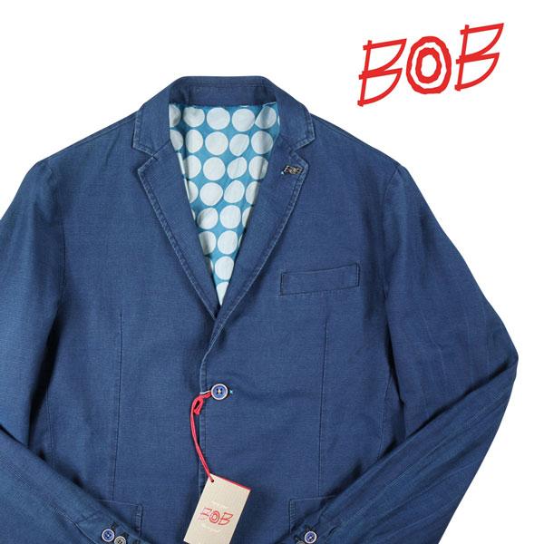 【52】 BOB ボブ ジャケット DAVID188 メンズ 春夏 ネイビー 紺 並行輸入品 メンズファッション 男性用 ビジネス アウター トップス 大きいサイズ 日本未入荷 ラッピング無料 送料無料