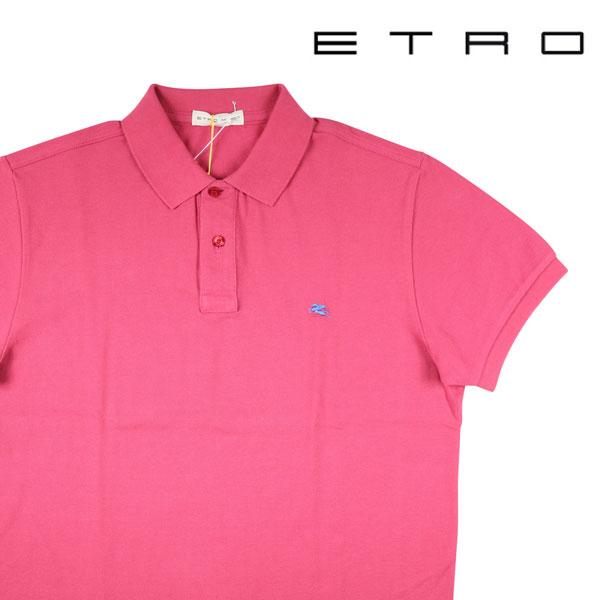 【L】 ETRO エトロ 半袖ポロシャツ メンズ 春夏 ピンク 並行輸入品 メンズファッション 男性用 ビジネス トップス 日本未入荷 ラッピング無料 送料無料