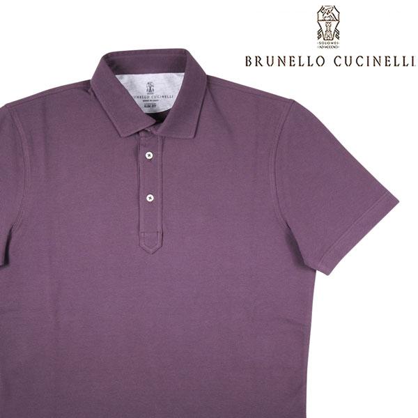 【S】 BRUNELLO CUCINELLI ブルネロクチネリ 半袖ポロシャツ M0T633936 メンズ 春夏 パープル 紫 並行輸入品 メンズファッション 男性用 ビジネス トップス 日本未入荷 ラッピング無料 送料無料