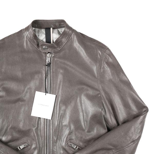 【M】 LOW BRAND ローブランド ブルゾン メンズ 秋冬 グレー 灰色 レザー 並行輸入品 メンズファッション 男性用 ビジネス アウター トップス 日本未入荷 ラッピング無料 送料無料