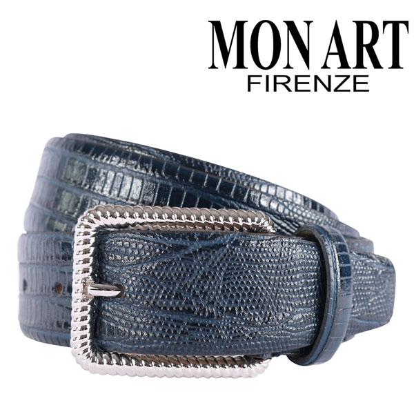 MONART モナート ベルト メンズ ネイビー 紺 レザー 並行輸入品 メンズファッション 男性用 ビジネス 日本未入荷 ラッピング無料 送料無料