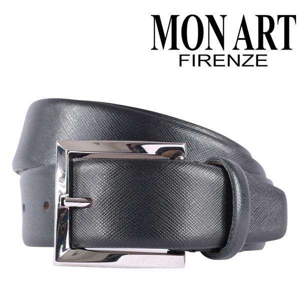 MONART モナート ベルト メンズ ブラック 黒 レザー 並行輸入品 メンズファッション 男性用 ビジネス 日本未入荷 ラッピング無料 送料無料