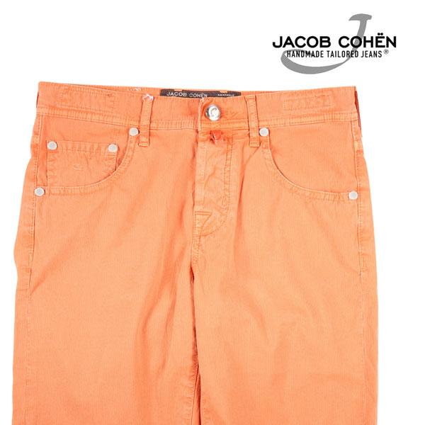 【31】 JACOB COHEN ヤコブコーエン ハーフパンツ J6636 メンズ 春夏 オレンジ 並行輸入品 メンズファッション 男性用 ビジネス ズボン 日本未入荷 ラッピング無料 送料無料