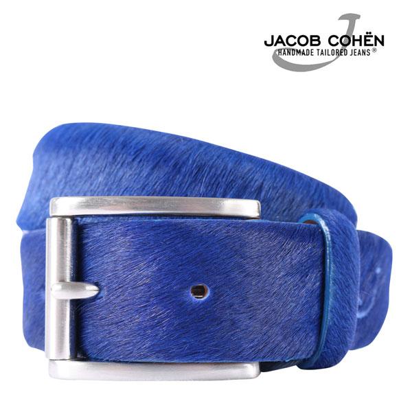 JACOB COHEN ヤコブコーエン ベルト J6122 メンズ レザー ブルー 青 レザー 並行輸入品 メンズファッション 男性用 ビジネス 日本未入荷 ラッピング無料 送料無料