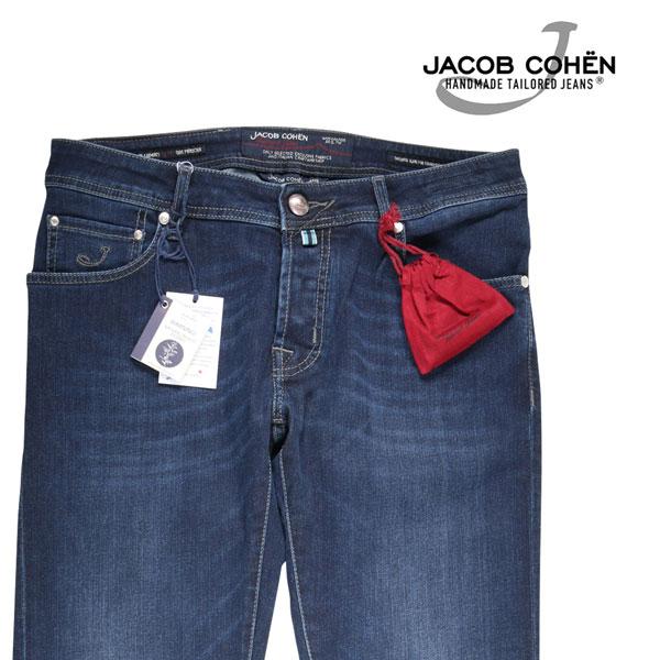 【36】 JACOB COHEN ヤコブコーエン ジーンズ J688JETSET メンズ ブルー 青 並行輸入品 メンズファッション 男性用 ビジネス デニム 大きいサイズ 日本未入荷 ラッピング無料 送料無料