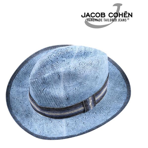 JACOB COHEN ヤコブコーエン ハット JI020 メンズ 春夏 ブルー 青 並行輸入品 メンズファッション 男性用 ビジネス 日本未入荷 ラッピング無料 送料無料