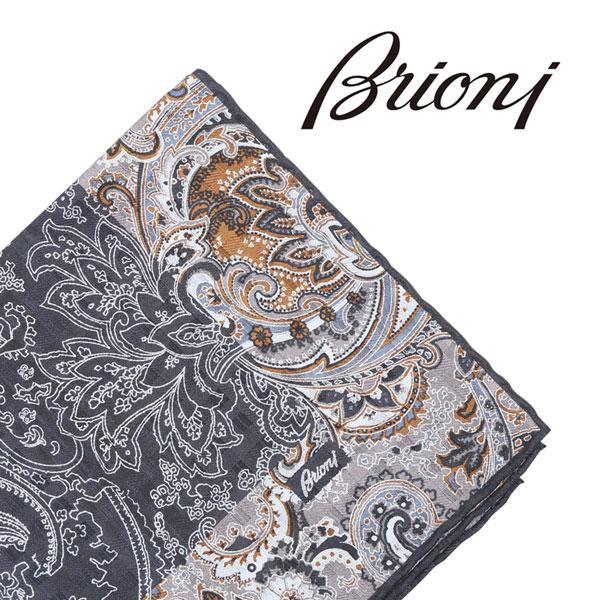 Brioni ブリオーニ ポケットチーフ O71000 P740K 1327 メンズ シルク100% イエロー 黄 並行輸入品 メンズファッション 男性用 ビジネス 日本未入荷 ラッピング無料 送料無料