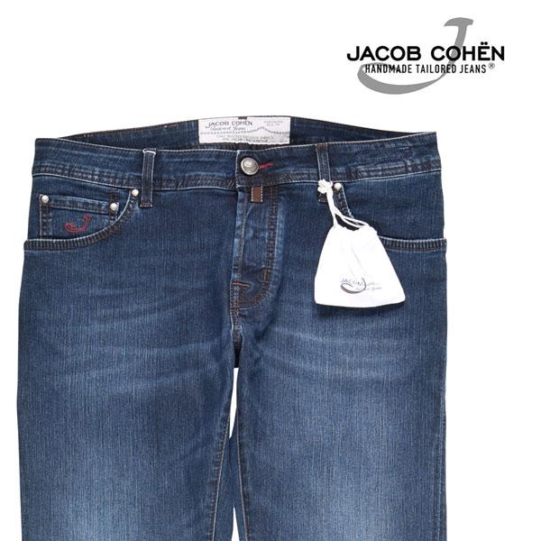 【34】 JACOB COHEN ヤコブコーエン ジーンズ PW622 メンズ ブルー 青 並行輸入品 メンズファッション 男性用 ビジネス デニム 大きいサイズ 日本未入荷 ラッピング無料 送料無料