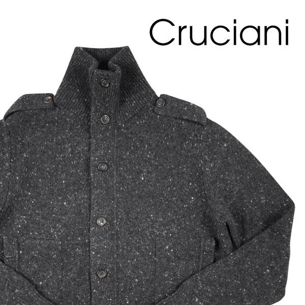 【54】 CRUCIANI クルチアーニ ハイネックセーター メンズ 秋冬 カシミヤ混 グレー 灰色 並行輸入品 メンズファッション 男性用 ビジネス ニット 大きいサイズ 日本未入荷 ラッピング無料 送料無料