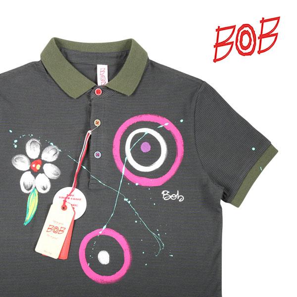 【XXL】 BOB ボブ 半袖ポロシャツ FRICKY メンズ 春夏 花柄 グリーン 緑 並行輸入品 メンズファッション 男性用 ビジネス トップス 大きいサイズ 日本未入荷 ラッピング無料 送料無料
