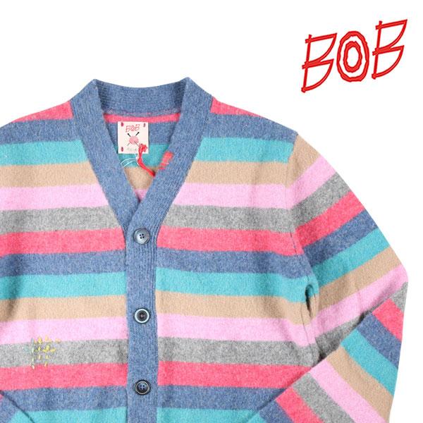 送料無料 BOB ボブ マート カーディガン DRIPPLE ピンク x 20564 S 超安い W20564 マルチカラー