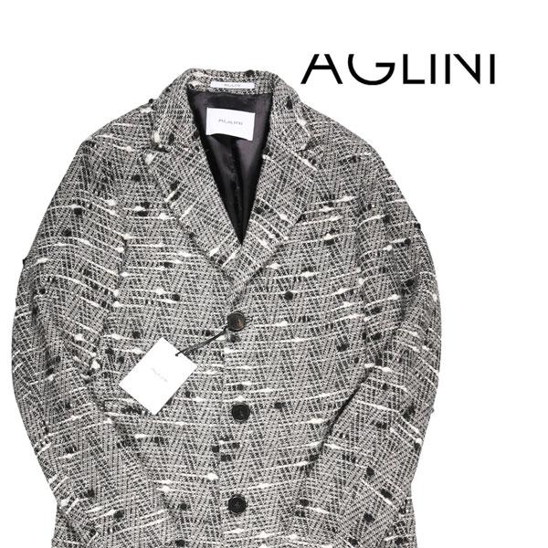 【50】 AGLINI アリーニ チェスターコート メンズ 秋冬 ホワイト 白 並行輸入品 メンズファッション 男性用 ビジネス アウター トップス 日本未入荷 ラッピング無料 送料無料
