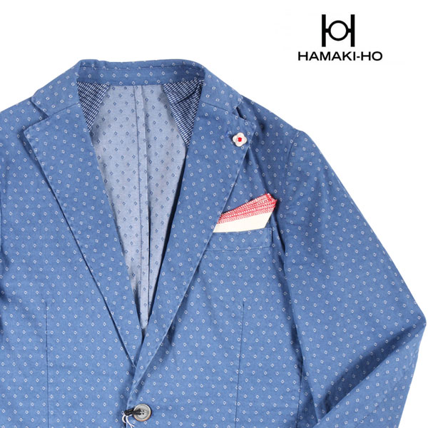 HAMAKI-HO(ハマキホ) ジャケット GAE1384H ブルー 50 20927bl 【S20929】