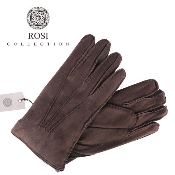 ROSI COLLECTION ロージコレクション グローブ メンズ 秋冬 ブラウン 茶 レザー 並行輸入品 メンズファッション 男性用 ビジネス 日本未入荷 ラッピング無料 送料無料