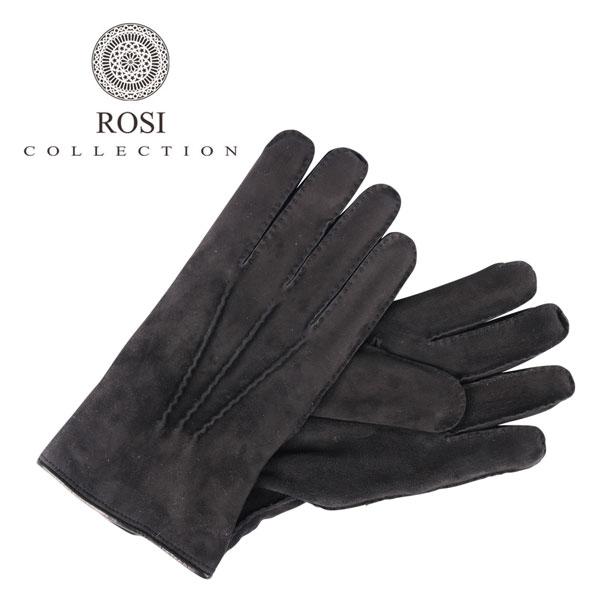ROSI COLLECTION ロージコレクション グローブ メンズ 秋冬 ブラック 黒 レザー 並行輸入品 メンズファッション 男性用 ビジネス 日本未入荷 ラッピング無料 送料無料