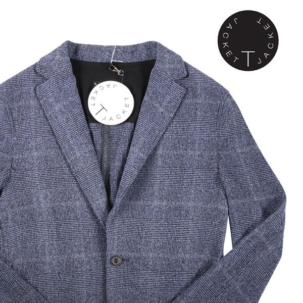 【XL】 T jacket ティージャケット ジャケット メンズ 春夏 チェック ネイビー 紺 並行輸入品 メンズファッション 男性用 ビジネス アウター トップス 日本未入荷 ラッピング無料 送料無料