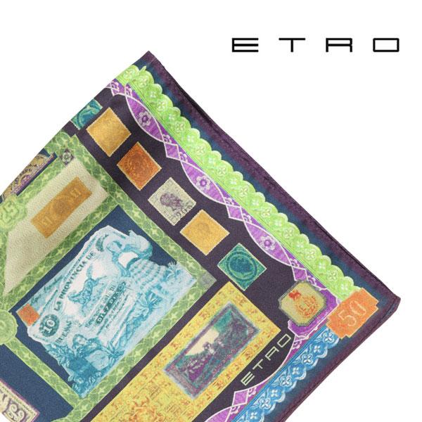 ETRO エトロ ポケットチーフ メンズ マルチカラー 並行輸入品 メンズファッション 男性用 ビジネス 日本未入荷 ラッピング無料 送料無料