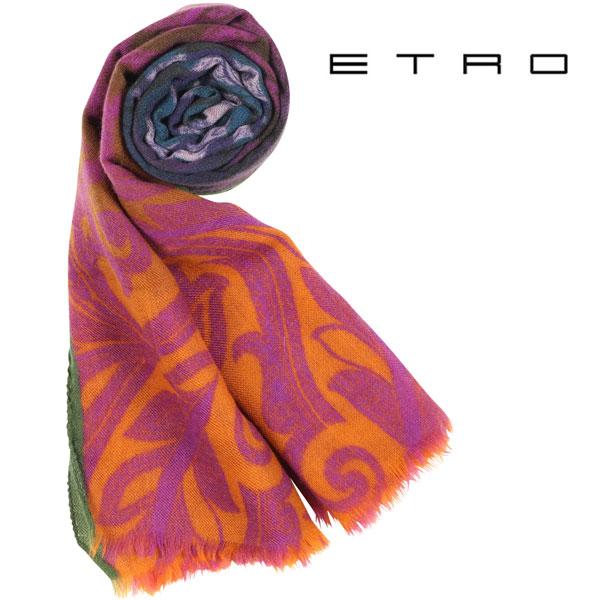 ETRO エトロ ストール メンズ カシミヤ100% ペイズリー マルチカラー 並行輸入品 メンズファッション 男性用 ビジネス 日本未入荷 ラッピング無料 送料無料