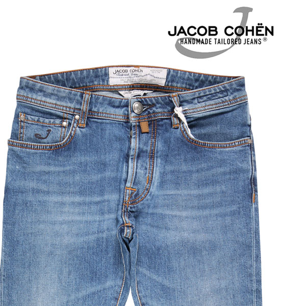 【30】 JACOB COHEN ヤコブコーエン ジーンズ PW688CMF メンズ ブルー 青 並行輸入品 メンズファッション 男性用 ビジネス デニム 日本未入荷 ラッピング無料 送料無料