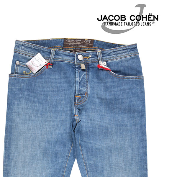 【37】 JACOB COHEN ヤコブコーエン ジーンズ J622QSCOMF メンズ ブルー 青 並行輸入品 メンズファッション 男性用 ビジネス デニム 大きいサイズ 日本未入荷 ラッピング無料 送料無料