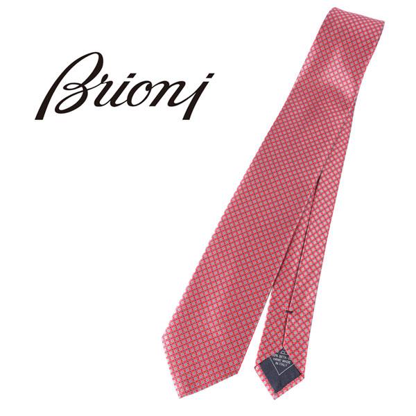 BRIONI ブリオーニ ネクタイ 7468 メンズ レッド 赤 並行輸入品 メンズファッション 男性用 ビジネス 日本未入荷 ラッピング無料 送料無料