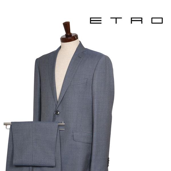52 ETRO エトロ スーツ メンズ ストライプ グレー 灰色 並行輸入品 メンズファッション 男性用 ビジネス 大きいサイズ 日本未入荷 ラッピング無料 送料無料 迎春 結婚式引出物 七五三