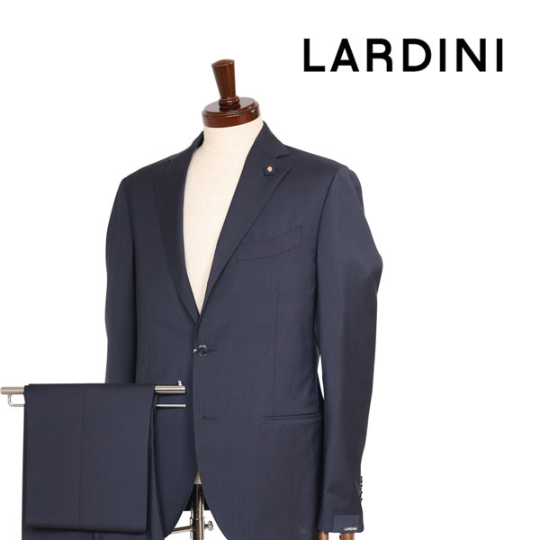 【48】 LARDINI ラルディーニ スーツ メンズ 春夏 ネイビー 紺 並行輸入品 メンズファッション 男性用 ビジネス 日本未入荷 ラッピング無料 送料無料