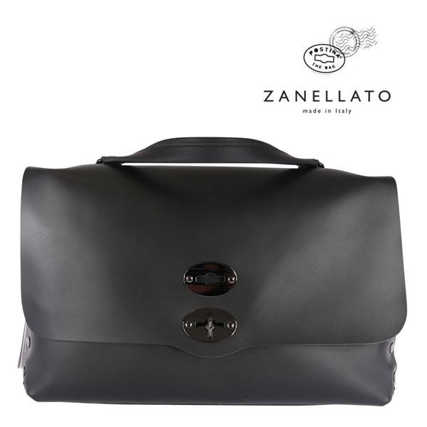 ZANELLATO ザネラート バッグ メンズ ブラック 黒 レザー 並行輸入品 メンズファッション 男性用 ビジネス 日本未入荷 ラッピング無料 送料無料