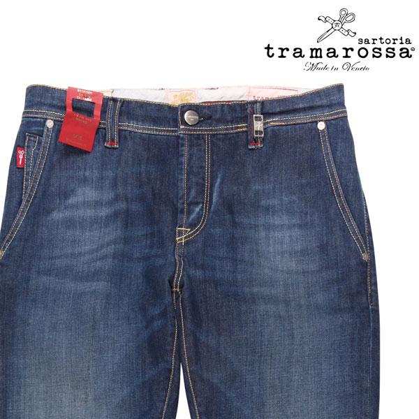 【31】 tramarossa トラマロッサ ジーンズ D754-6MONT メンズ ブルー 青 並行輸入品 メンズファッション 男性用 ビジネス デニム 日本未入荷 ラッピング無料 送料無料
