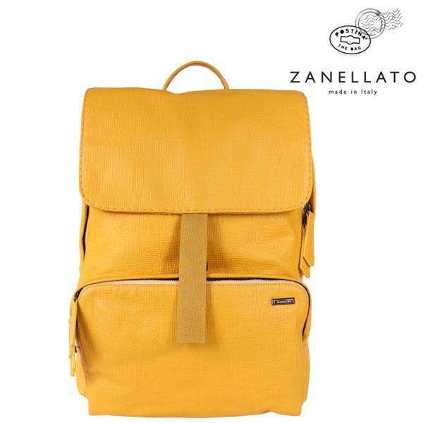 ZANELLATO ザネラート リュック メンズ イエロー 黄 レザー 並行輸入品 メンズファッション 男性用 ビジネス 日本未入荷 ラッピング無料 送料無料
