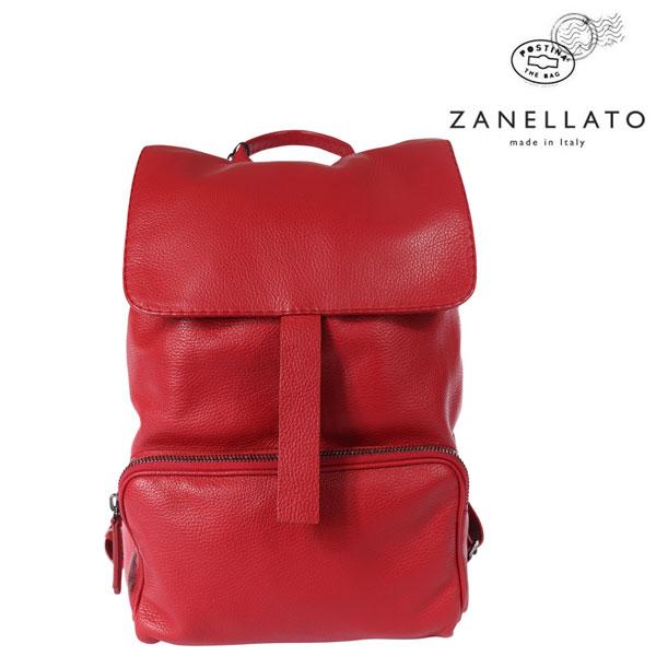 ZANELLATO ザネラート リュック メンズ レッド 赤 レザー 並行輸入品 メンズファッション 男性用 ビジネス 日本未入荷 ラッピング無料 送料無料