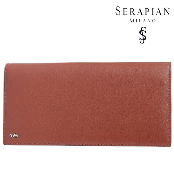 SERAPIAN セラピアン 財布 メンズ レザー ブラウン 茶 レザー 並行輸入品 メンズファッション 男性用 ビジネス 日本未入荷 ラッピング無料 送料無料