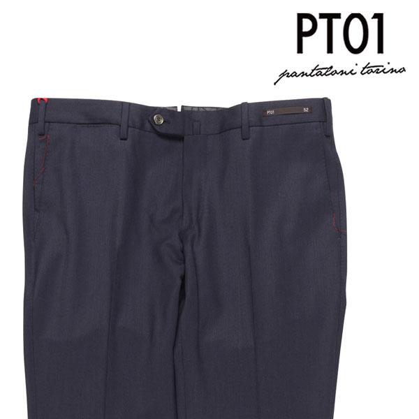 【52】 PT01 ピーティー ゼロウーノ スラックス DSTUZ00WTR メンズ ネイビー 紺 並行輸入品 メンズファッション 男性用 ビジネス ズボン 大きいサイズ 日本未入荷 ラッピング無料 送料無料