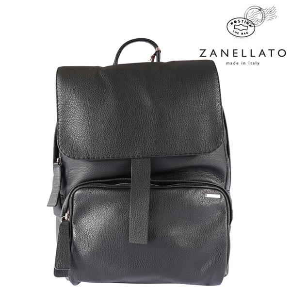 ZANELLATO ザネラート リュック メンズ レザー ブラック 黒 レザー 並行輸入品 メンズファッション 男性用 ビジネス 日本未入荷 ラッピング無料 送料無料