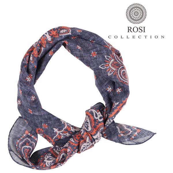 ROSI COLLECTION ロージコレクション スカーフ メンズ ペイズリー ネイビー 紺 並行輸入品 メンズファッション 男性用 ビジネス 日本未入荷 ラッピング無料 送料無料