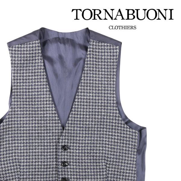 卓越 送料無料 Tornabuoni トルナブォーニ ジレ 25212 グレー ネイビー W23515 44 x 未使用品 23515