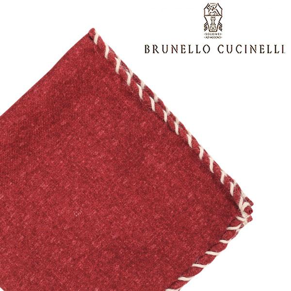 BRUNELLO CUCINELLI ブルネロクチネリ ポケットチーフ CC327 メンズ レッド 赤 並行輸入品 メンズファッション 男性用 ビジネス 日本未入荷 ラッピング無料 送料無料