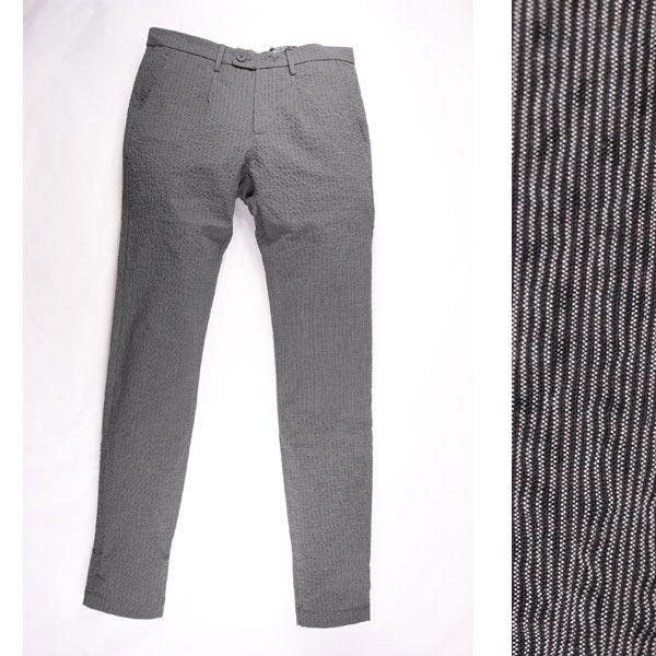 DISTRETT 12 カラーパンツ PA008EP7 dark gray 48【S11050】 ディストレット 12
