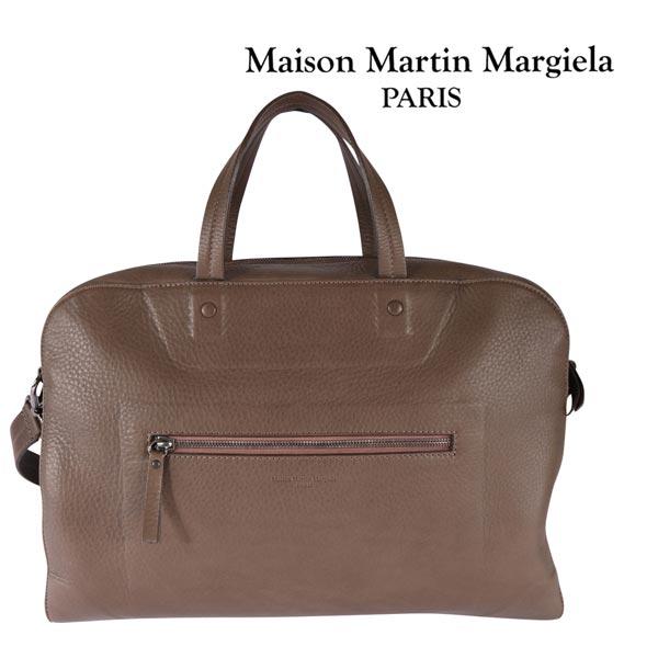 Martin Margiela マルタンマルジェラ ボストンバッグ S36WD0084 メンズ レザー ブラウン 茶 並行輸入品 メンズファッション 男性用 ビジネス 日本未入荷 ラッピング無料 送料無料