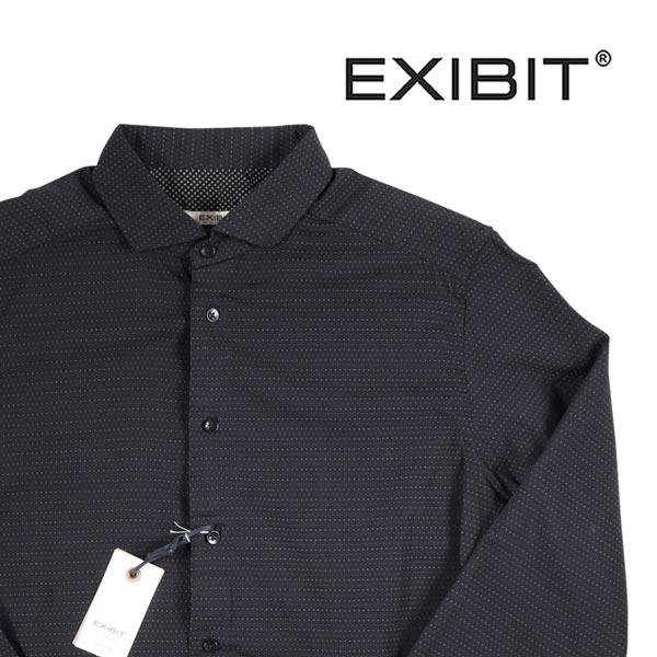 EXIBIT 長袖シャツ CA113C518 black M 11387【A11387】 エグジビット