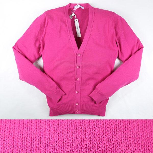 DANIELE FIESOLI カーディガン 28006 pink M【S11898】 ダニエレフィエゾーリ