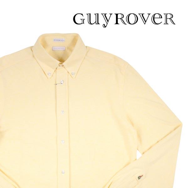 【M】 GUY ROVER ギローバー 長袖シャツ メンズ イエロー 黄 並行輸入品 メンズファッション 男性用 ビジネス カジュアルシャツ 日本未入荷 ラッピング無料 送料無料