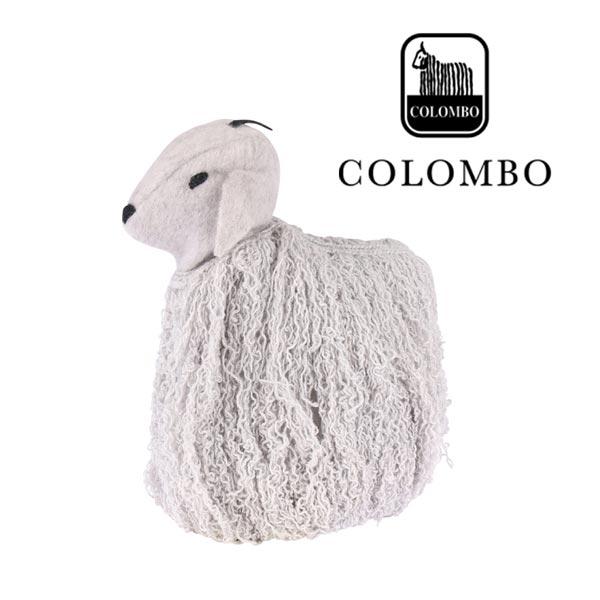 COLOMBO カシミヤ100% 人形 light gray 11949LGY【A11949】 コロンボ