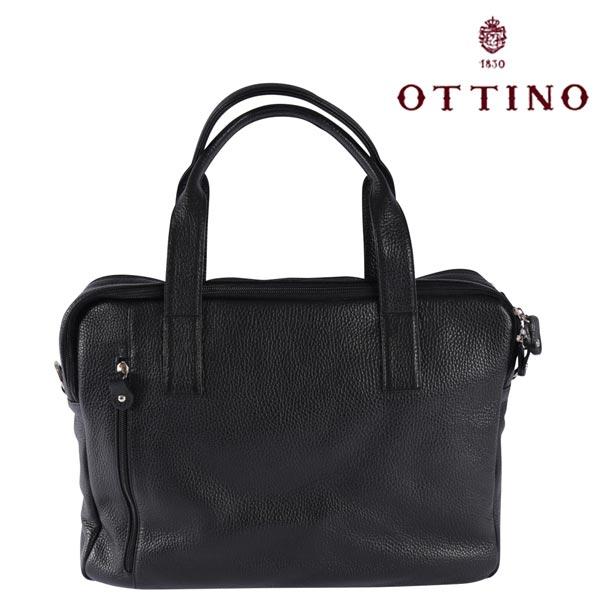 Ottino オッティーノ トートバッグ メンズ ブラック 黒 並行輸入品 メンズファッション 男性用 ビジネス 日本未入荷 ラッピング無料 送料無料