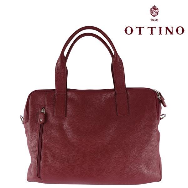 Ottino オッティーノ トートバッグ メンズ レッド 赤 並行輸入品 メンズファッション 男性用 ビジネス 日本未入荷 ラッピング無料 送料無料